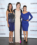 Zoe Saldana,Olivia Wilde and Eva Longoria  at The Glamour Reel Moments held at The Directors Guild of America in West Hollywood, California on October 24,2011                                                                               © 2011 Hollywood Press Agency