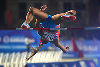 BARRANQUILLA - COLOMBIA, 31-07-2018:Alysbeth Felix (CUB) en salto alto .Juegos Centroamericanos y del Caribe Barranquilla 2018. / Alysbeth Felix (CUB) in high jump during the Central American and Caribbean Sports Games Barranquilla 2018. Photo: VizzorImage /  Alfonso Cervantes /Contribuidor