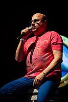São Paulo (SP), 14/12/2020 - Paulinho/Roupa Nova - O vocalista e percussionista Paulo César Santos, o Paulinho, membro fundador da banda Roupa Nova, morreu aos 68 anos, nesta segunda feira (14), vítima da Covid-19, no Hospital Copa D'or, no Rio de Janeiro, onde estava internado desde novembro. A notícia foi divulgada pela assessoria da banda. FOTO DE ARQUIVO - A banda Roupa Nova se apresentou no Credicard Hall embalado pelos sucessos dos seus 32 anos de estrada, em show que marca o lançamento do DVD Cruzeiro, que foi gravado em alto mar (18/01/2013).