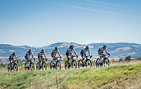 Strong side winds & an agressive Team Bora-Hansgrohe has split the peloton into 3 big groups from early on in the race.<br /> <br /> Stage 7 from Millau to Lavaur (168km)<br /> <br /> 107th Tour de France 2020 (2.UWT)<br /> (the 'postponed edition' held in september)<br /> <br /> ©kramon