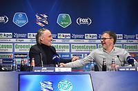 VOETBAL: HEERENVEEN: 16-03- 2019, Abe Lenstra Stadion, SC Heerenveen - De Graafschap, Jan Olde Riekerink, Henk de Jong, ©foto Martin de Jong