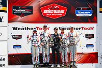 #77: Bryan Herta Autosport w/ Curb-Agajanian Hyundai Veloster N TCR, TCR: Michael Lewis, Taylor Hagler, #27: COPELAND MOTORSPORTS Hyundai Veloster N TCR, TCR: Tyler Maxson, Tyler Gonzalez