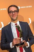 Jean-Francois Rivard<br /> ,<br /> Gala des Gemeaux 2014<br /> <br /> PHOTO :  Agence Quebec Presse