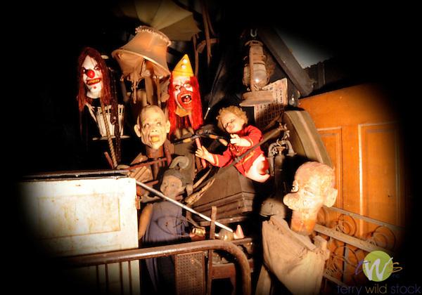 Knoebels Grove Amusement Park. Haunted House.