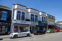 A general view of Oystermouth Village, Mumbles, Swansea, Wales, UK. Thursday 06 June 2019