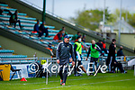 Kerry manager Fintan O'Connor giving instructions against Meath in the National hurling league in Austin Stack Park on Sunday