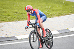 CERATIZIT-WNT Pro Cycling Team rider in action during Stage 2 of the CERATIZIT Challenge by La Vuelta 2020, an individual time trial running 9.3km around Boadilla del Monte, Spain. 6th November 2020.<br /> Picture: Antonio Baixauli López/BaixauliStudio | Cyclefile<br /> <br /> All photos usage must carry mandatory copyright credit (© Cyclefile | Antonio Baixauli López/BaixauliStudio)
