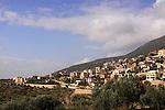 Druze village Ein el Asad in the Upper Galilee