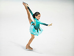 Amina Alexeyeva competes in the during the Asian Junior Figure Skating Challenge 2015 on October 07, 2015 in Hong Kong, China. Photo by Aitor Alcalde/ Power Sport Images