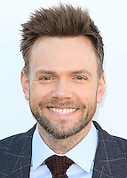 HOLLYWOOD, LOS ANGELES, CA, USA - DECEMBER 10: Joel McHale arrives at The Hollywood Reporter's 23rd Annual Power 100 Women In Entertainment Breakfast held at Milk Studios on December 10, 2014 in Hollywood, Los Angeles, California, United States. (Photo by Xavier Collin/Celebrity Monitor)