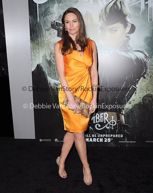 Diane Lane at The Warner Bros. Pictures World Premiere of Sucker Punch held at The Grauman's Chinese Theatre in Hollywood, California on March 23,2011                                                                               © 2010 Hollywood Press Agency