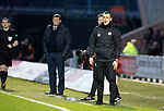 St Mirren v St Johnstone…26.12.18…   St Mirren Park    SPFL<br />The two managers Oran Kearney and Tommy Wright<br />Picture by Graeme Hart. <br />Copyright Perthshire Picture Agency<br />Tel: 01738 623350  Mobile: 07990 594431
