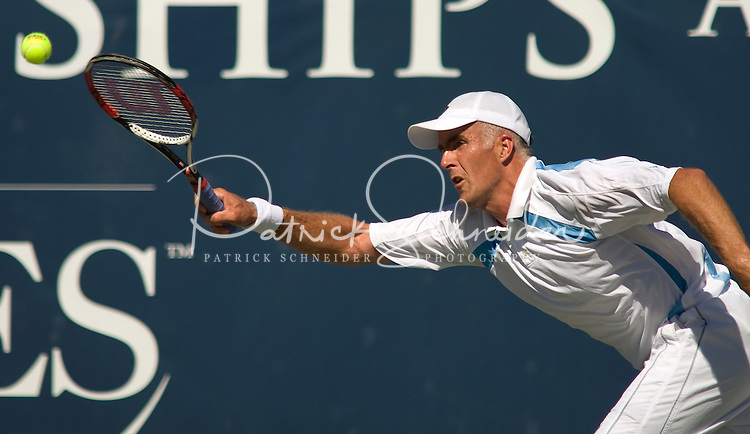 Tennis Todd Martin plays during the Championships at the Palisades in Charlotte, NC.
