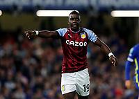 22nd September 2021; Stamford Bridge, Chelsea, London, England; EFL Cup football, Chelsea versus Aston Villa; Marvelous Nakamba of Aston Villa