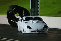 Jun 20, 2015; Bristol, TN, USA; NHRA pro mod driver Eric Dillard during qualifying for the Thunder Valley Nationals at Bristol Dragway. Mandatory Credit: Mark J. Rebilas-