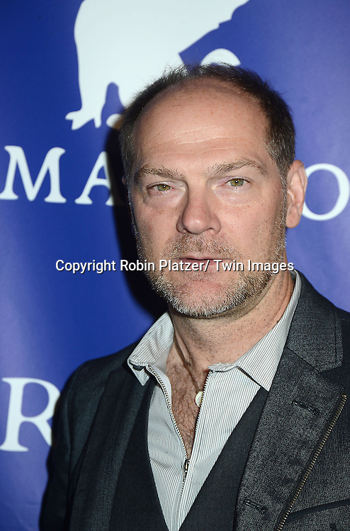 Les Stroud attends the Inaugural Oceana Ball on April 8,2013 at Christie's in New York City.