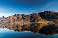 Liathach reflected in Upper Loch Torridon, Annat, Ross & Cromarty, Northwest Highlands
