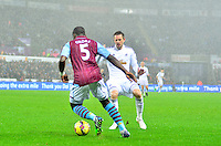 swansea...sport..swansea v aston villa...friday 26th december 2014...<br /> <br /> <br /> Swansea's Gylfi Sigurdsson