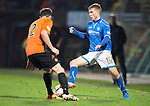 Dundee United v St Johnstone...12.03.14    SPFL<br /> David Wotherspoon and Keith Watson<br /> Picture by Graeme Hart.<br /> Copyright Perthshire Picture Agency<br /> Tel: 01738 623350  Mobile: 07990 594431