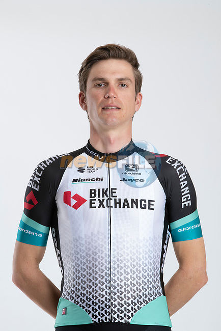Amund Grondahl Jansen (NOR) Team BikeExchange men's squad potrait, Spain. 22nd January 2021.<br /> Picture: Sara Cavallini/GreenEDGE Cycling | Cyclefile<br /> <br /> All photos usage must carry mandatory copyright credit (© Cyclefile | Sara Cavallini/GreenEDGE Cycling)