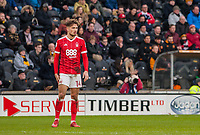 Nottingham Forest's midfielder Matty Cash (14) during the FA Cup 4th round match between Hull City and Nottingham Forest at the KC Stadium, Kingston upon Hull, England on 27 January 2018. Photo by Stephen Buckley / PRiME Media Images.