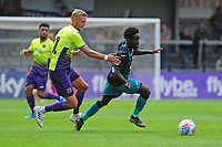 Nathan Dyer of Swansea City in action during the pre season friendly match between Exeter City and Swansea City at St James Park in Exeter, England, UK. Saturday, 20 July 2019
