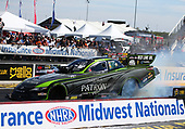NHRA Mello Yello Drag Racing Series<br /> AAA Insurance NHRA Midwest Nationals<br /> Gateway Motorsports Park, Madison, IL USA<br /> Sunday 1 October 2017 Alexis DeJoria, Patron, funny car, Toyota, Camry<br /> <br /> World Copyright: Mark Rebilas<br /> Rebilas Photo