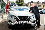 Customer Thomas Randles, Randles brothers, Nissan dealers in Killarney.