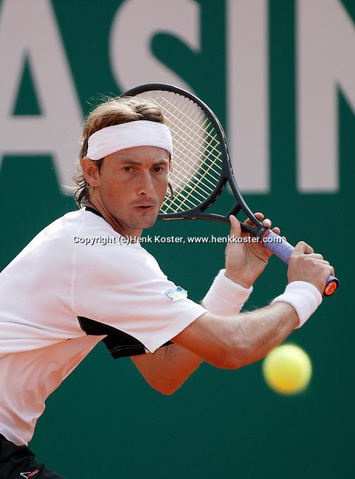 20-4-06, Monaco, Tennis,Master Series, Juan Carlos Ferero