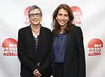 Robyn Goodman and Sarah Stern attends the 2019 Off Broadway Alliance Awards Reception at Sardi's on June 18, 2019 in New York City.