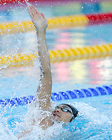 Japan's Ryosuke Irie swims during a Men's 50m Backstroke semifinal at the Swimming World Championships in Rome, 1 August 2009..UPDATE IMAGES PRESS/Riccardo De Luca