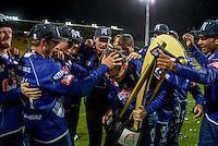 151213 Twenty20 Cricket Final - Auckland Aces v Otago Volts