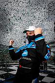 Winner #10: Konica Minolta Acura ARX-05 Acura DPi, DPi: Filipe Albuquerque, podium, victory lane