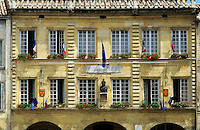 France. Mairie/Hotel de Ville. Pont St. Esprit. Gard.  Also the Museum Paul-Raymond.  .