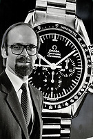 1981 FILE PHOTO - ARCHIVES -<br /> <br /> 1981 FILE -<br /> <br /> Daniel Kellerhals: Vice-president of the Federation of Swiss Watch Manufacturers says watchmakers in his country have have not marketed their products properly, despite technological developments.<br /> <br /> PHOTO : Ron BULL - Toronto Star Archives - AQP