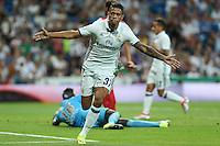 Real Madrid's Mariano during the XXXVII Bernabeu trophy between Real Madrid and Stade de Reims at the Santiago Bernabeu Stadium. August 15, 2016. (ALTERPHOTOS/Rodrigo Jimenez) /NORTEPHOTO