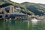 Italy, enclave in Swiss Cantone Ticino, Campione d'Italia: tax haven with Casino   Italien, Exklave im schweizerischen Kanton Tessin, Campione d'Italia: Steueroase mit Spielbank