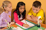 Education elementary science activity 4th grade students ages 9-10 data recording