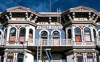 San Diego: Grand Hotel, 1888. Upper Facade.  (Photo '81)