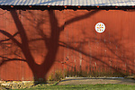Stopper barn door with hex sign, Lycoming County, Pennsylvania