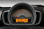 Instrument panel close up detail view of a 2008 Smartfortwo