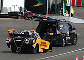 funny car, Camry, J.R. Todd, DHL, Sienna, support vehicle