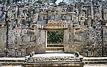 House of the snakemouth, Chicanna, Mexico, Central America