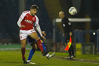 Fleetwood Town's Harrison Biggins during the The Checkatrade Trophy match between Bury and Fleetwood Town at Gigg Lane, Bury, England on 9 January 2018. Photo by Juel Miah/PRiME Media Images.