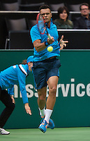 12-02-14, Netherlands,Rotterdam,Ahoy, ABNAMROWTT,Jo-Wilfried Tsonga(FRA) <br /> Photo:Tennisimages/Henk Koster