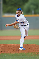 ACL Royals Blue pitcher Parker Harm (46) during a game against the ACL Diamondbacks on September 17, 2021 at Surprise Stadium in Surprise, Arizona. (Tracy Proffitt/Four Seam Images)