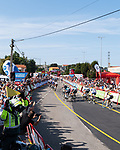 The sprint for the finish line of Stage 16 of La Vuelta d'Espana 2021, running 180km from Laredo to Santa Cruz de Bezana, Spain. 31st August 2021.     <br /> Picture: Cxcling   Cyclefile<br /> <br /> All photos usage must carry mandatory copyright credit (© Cyclefile   Cxcling)