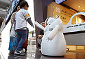 JAL tests robot guide at airport