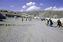 Iran 1974.Camp de réfugiés kurdes a Nelliwan.Iran 1974.Kurdish refugees' camp in Nelliwan
