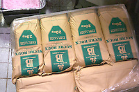 sacks of sugar for chaptalisation georges duboeuf beaujolais burgundy france